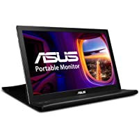 "ASUS MB168B 15.6"" WXGA 1366x768 USB Portable Monitor Black/Silver"