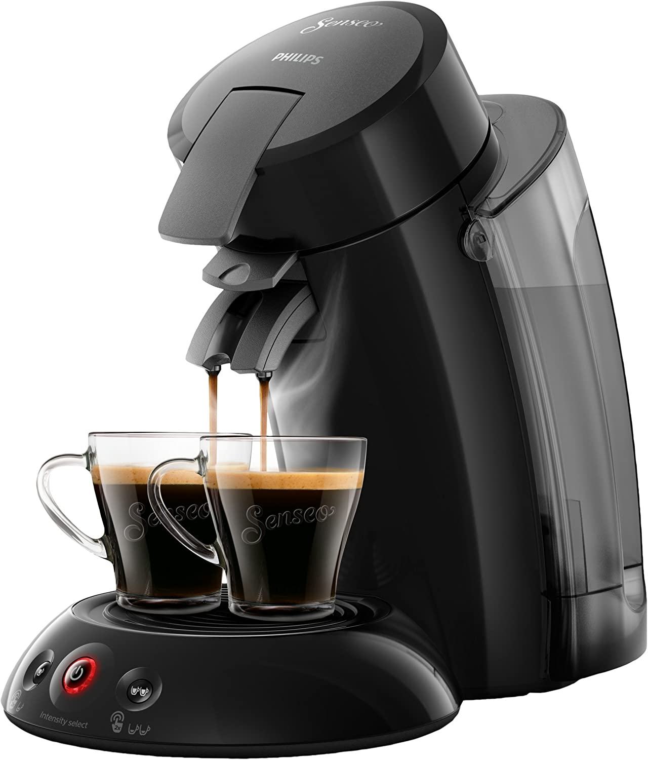 Philips Senseo Original XL HD6555/22 Cafetera Monodosis con Tecnología Coffee Boost, Negro, 22.5x46.6x37 cm: Philips: Amazon.es: Hogar