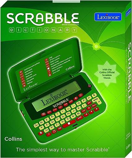 scf-328aen Deluxe – Diccionario electrónico Scrabble rápido y fácil acceso a la base de datos más recientes de más de 276, 000 Scrabble autorizado palabras, con corrector ortográfico y definición función: Amazon.es: