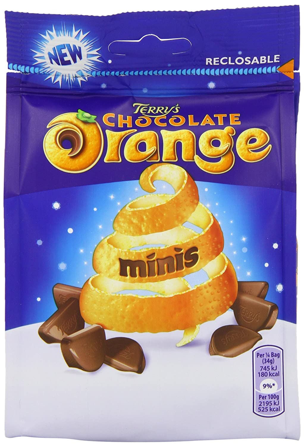 Kraft Terry's Chocolate Orange Mini's Bag 136 g (Pack of 10 ...
