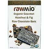 Rawmio - Organic Gourmet Raw Chocolate Bark Hazelnut & Fig - 1.76 oz.