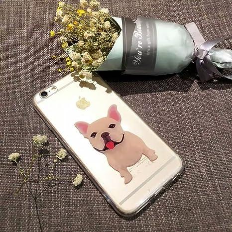 2744b4c7291 (Sleeping bear) Apple iPhone 7/iPhone 8 Funda Carcasa,Pequeño Animal Perro