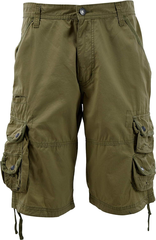 The JDP Co. Mens Cargo Shorts