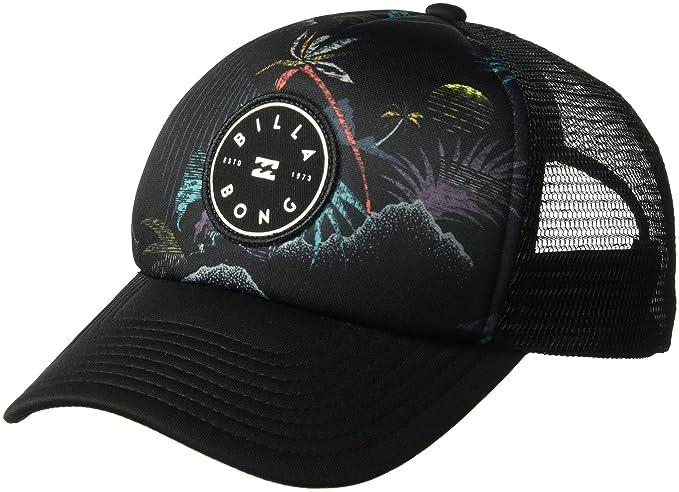 online store 88199 488db Billabong Boys  Big Scope Trucker Hat, Black ONE