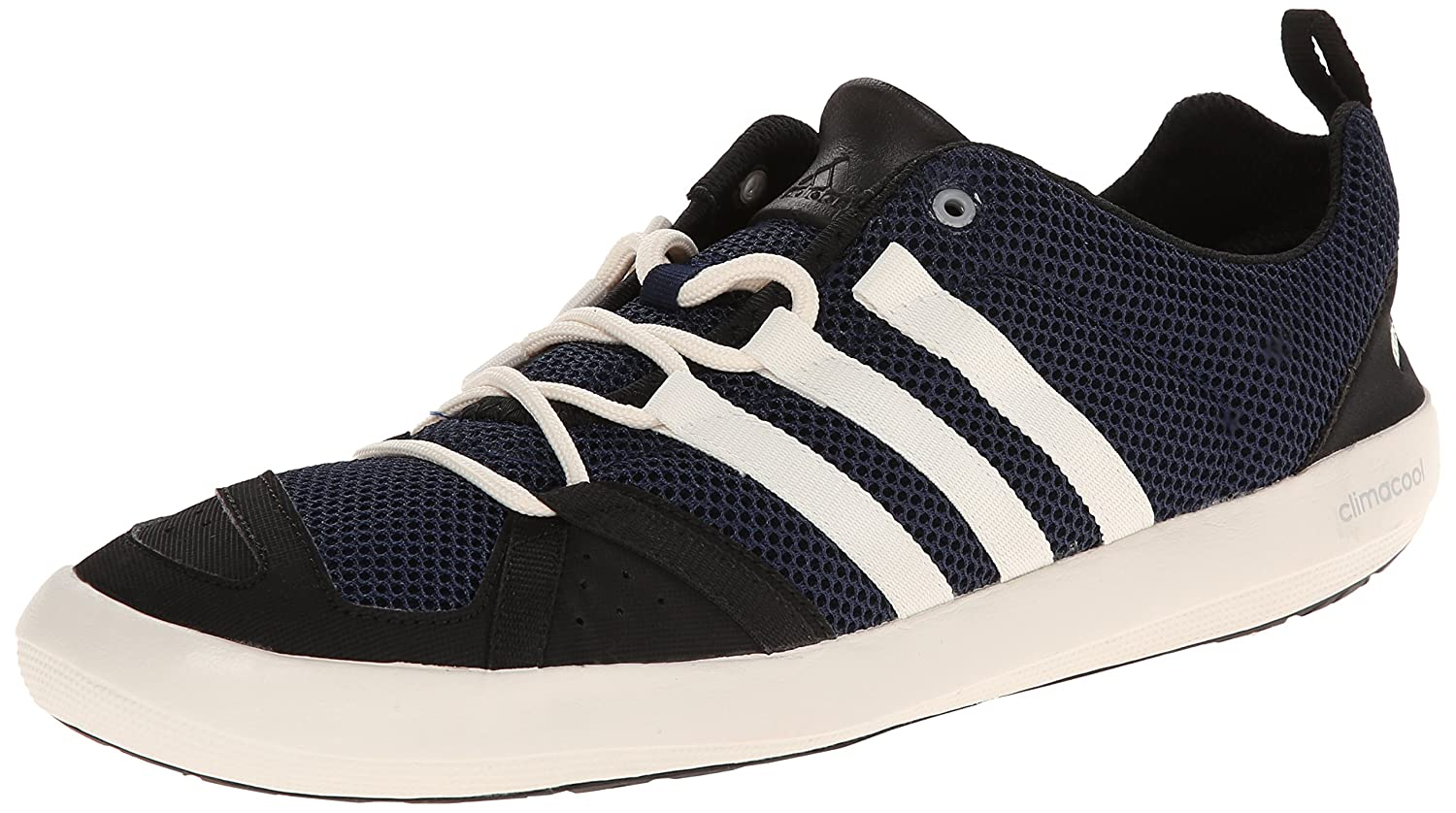 959a97d2674e35 Adidas outdoor Mens Climacool Boat Lace Water Shoes Colonel Navy ChalWhite  Black Reasonable Price