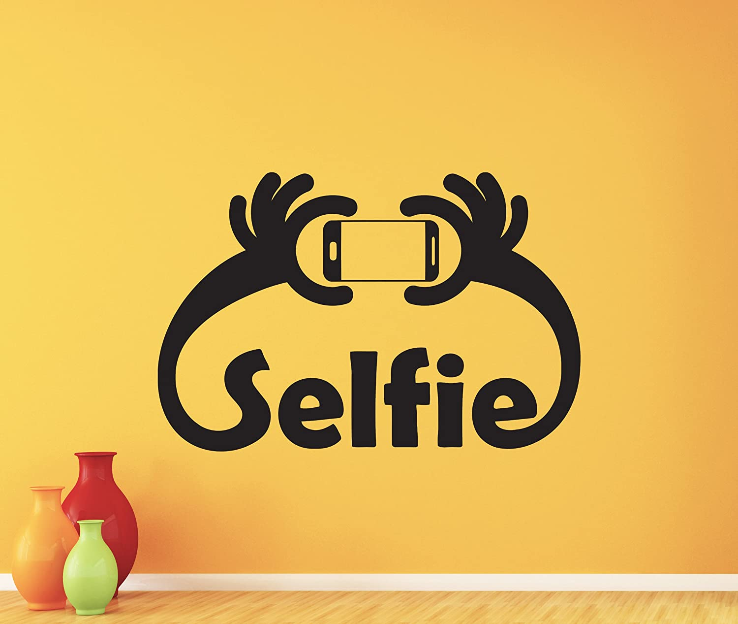 Selfie Wall Decal Selfie Photographer Vinyl Sticker Photo Studio ...