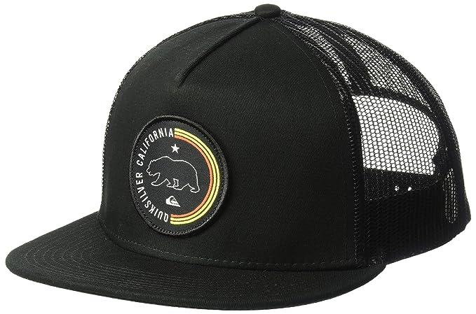 8aca203850e Amazon.com  Quiksilver Men s Bear Scratcher Trucker HAT