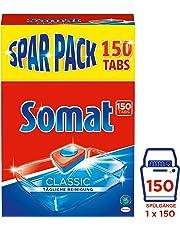 Somat Classic, Geschirrspültabs für tägliche Reinigung, 1er Pack (1 x 150 Stück)