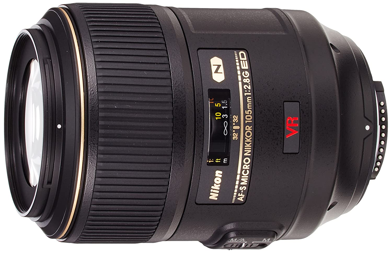 Nikon 105mm AF-S VR 105 f/2.8G IF-ED Micro Prime Lens for