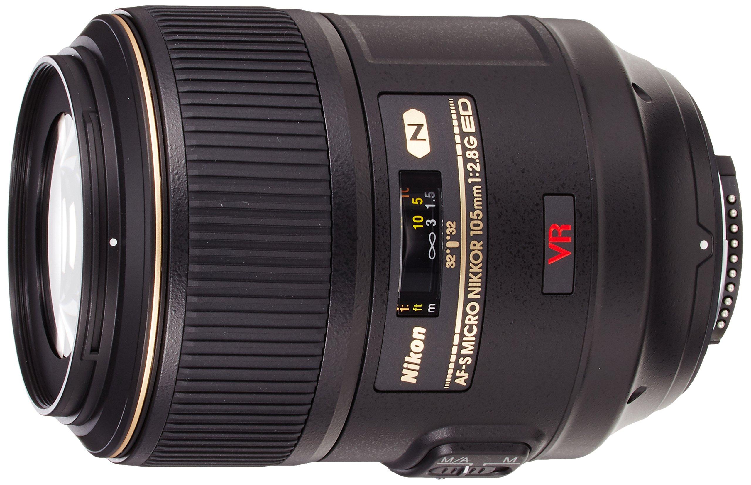 Nikon AF-S VR Micro-NIKKOR 105mm f/2.8G IF-ED Lens by Nikon