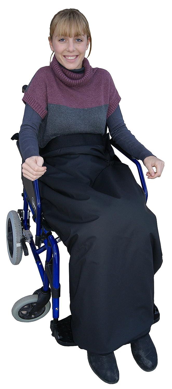 Manta térmica impermeable y termorregulable para silla de ruedas, 90 x 105 cm: Amazon.es: Hogar
