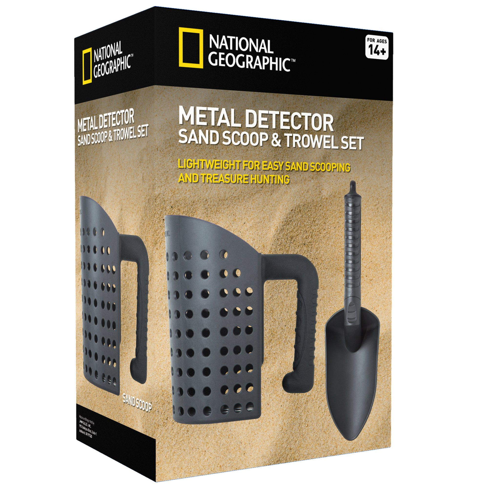 NATIONAL GEOGRAPHIC Sand Scoop and Shovel Accessories for Metal Detecting and Treasure Hunting
