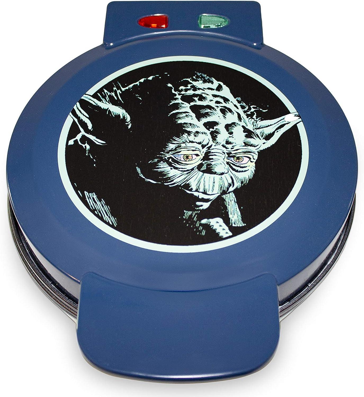 Uncanny Brands Star Wars Yoda Waffle Maker