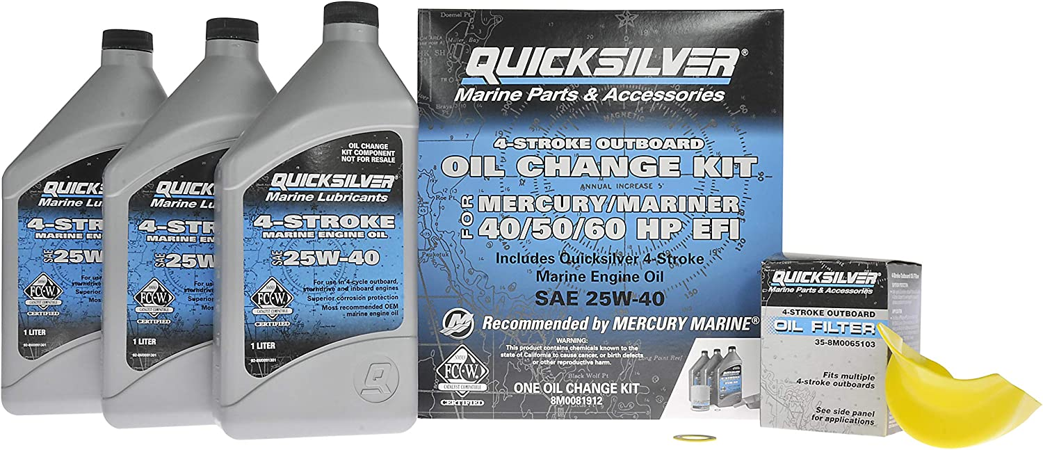 Quicksilver 4-Stroke EFI Oil Change Kit