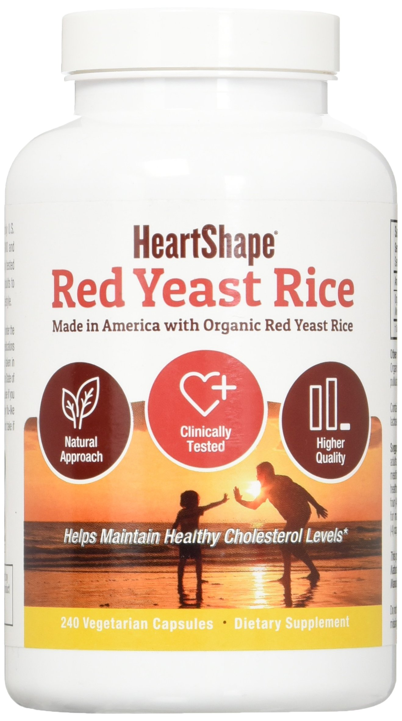 HeartShape Red Yeast Rice 240 Count