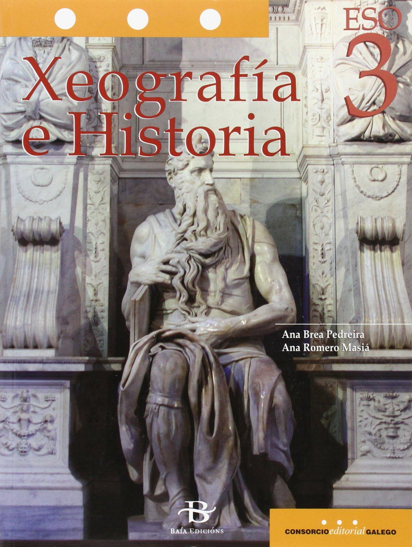 Xeografía e Historia 3º ESO LOMCE (Libro de texto): Amazon.es: Ana ...