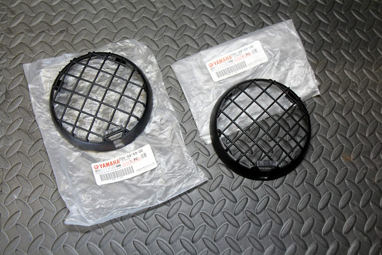 NEW YAMAHA Banshee headlights OEM factory plastic grills BRAND fits 2000-2006