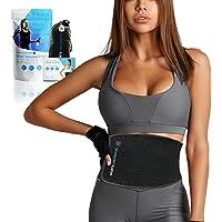 Sports Laboratory Waist Trainer PRO + voor mannen en vrouwen - Ideale zweetband voor gewichtsverlies en…
