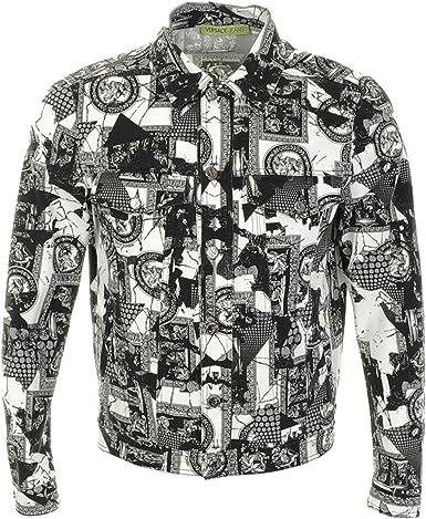 Versace - Chaqueta - para Hombre: Amazon.es: Ropa y accesorios