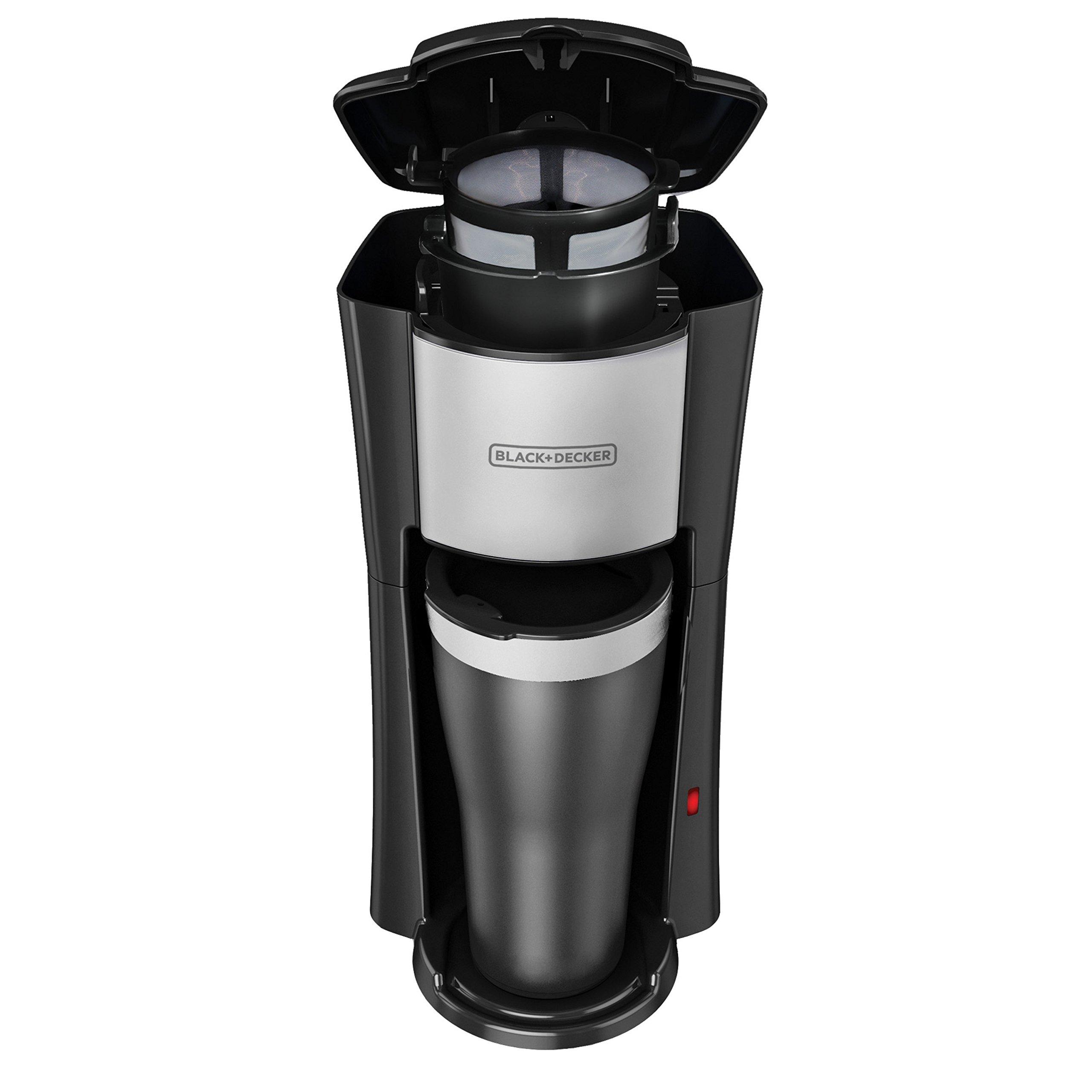 BLACK+DECKER Single Serve Coffeemaker, Black, CM618 by BLACK+DECKER (Image #8)