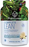 PlantFusion Complete Lean Plant Based Weight Loss Protein Powder, Creamy Vanilla Bean, 29.06 oz Tub, 20 Servings, 1 Count, Gluten Free, Vegan, Non-GMO, Packaging May Vary