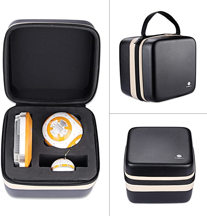 Duro EVA Bolsa para Sphero Star Wars BB-8 Droid R001ROW Altavoz,Viaje Estuche Bolso Funda para Sphero Star Wars BB-8 Droid R001ROW: Amazon.es: Electrónica