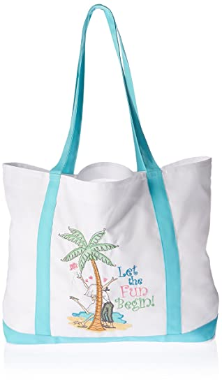 Amazon.com: Let the Fun Begin Large Nylon Tote Bag: Home & Kitchen