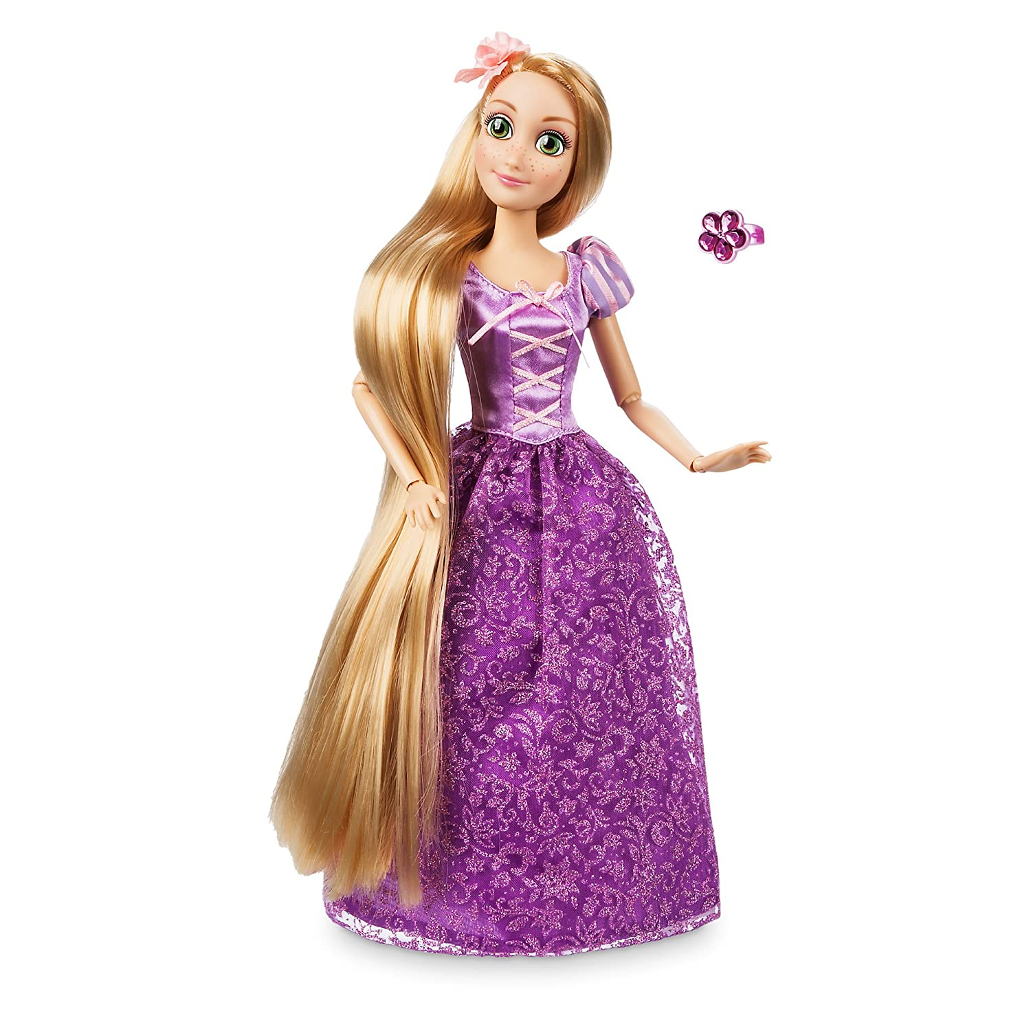 11 1//2 inch 460017964236 Tangled Disney Rapunzel Classic Doll with Ring