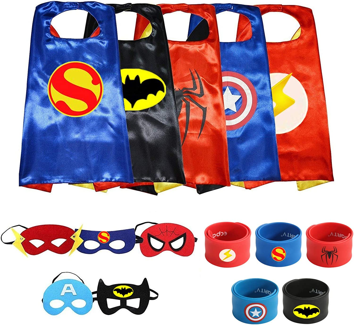 Superheros Cape and Mask Costumes