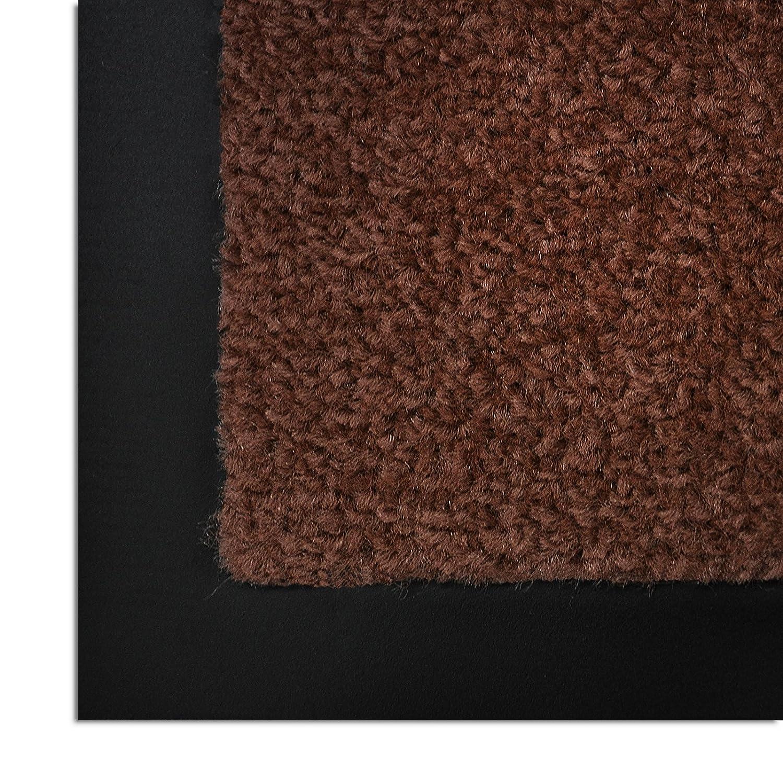 Casa pura® Premium Fußmatte in attraktiver Optik     Schmutzfangmatte in vielen Größen   hellgrau   90x150cm B07N1MSLZZ Fumatten e19b50