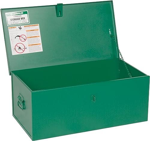 Greenlee – Chest Box 1230 , Storage 1230 , Green, 30 x 12 x 16
