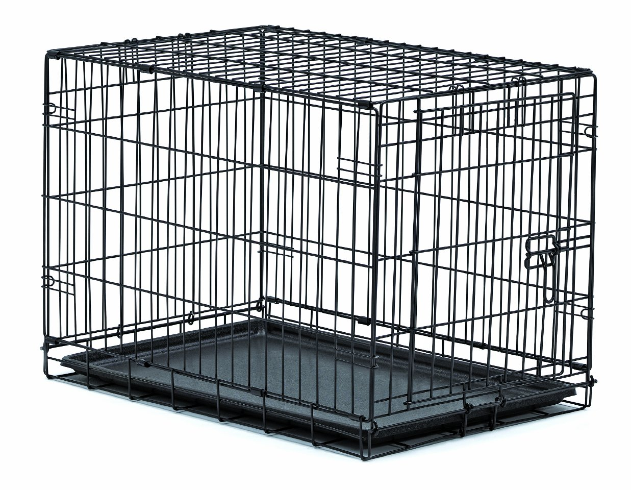 amazoncom  new world  folding metal dog crate includes leak  - amazoncom  new world  folding metal dog crate includes leakproofplastic tray dog crate measures l x w x h inches for medium dogbreeds  pet