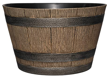 Amazoncom Gardengoodz Hd1 1027 Disoak Whiskey Barrel 205
