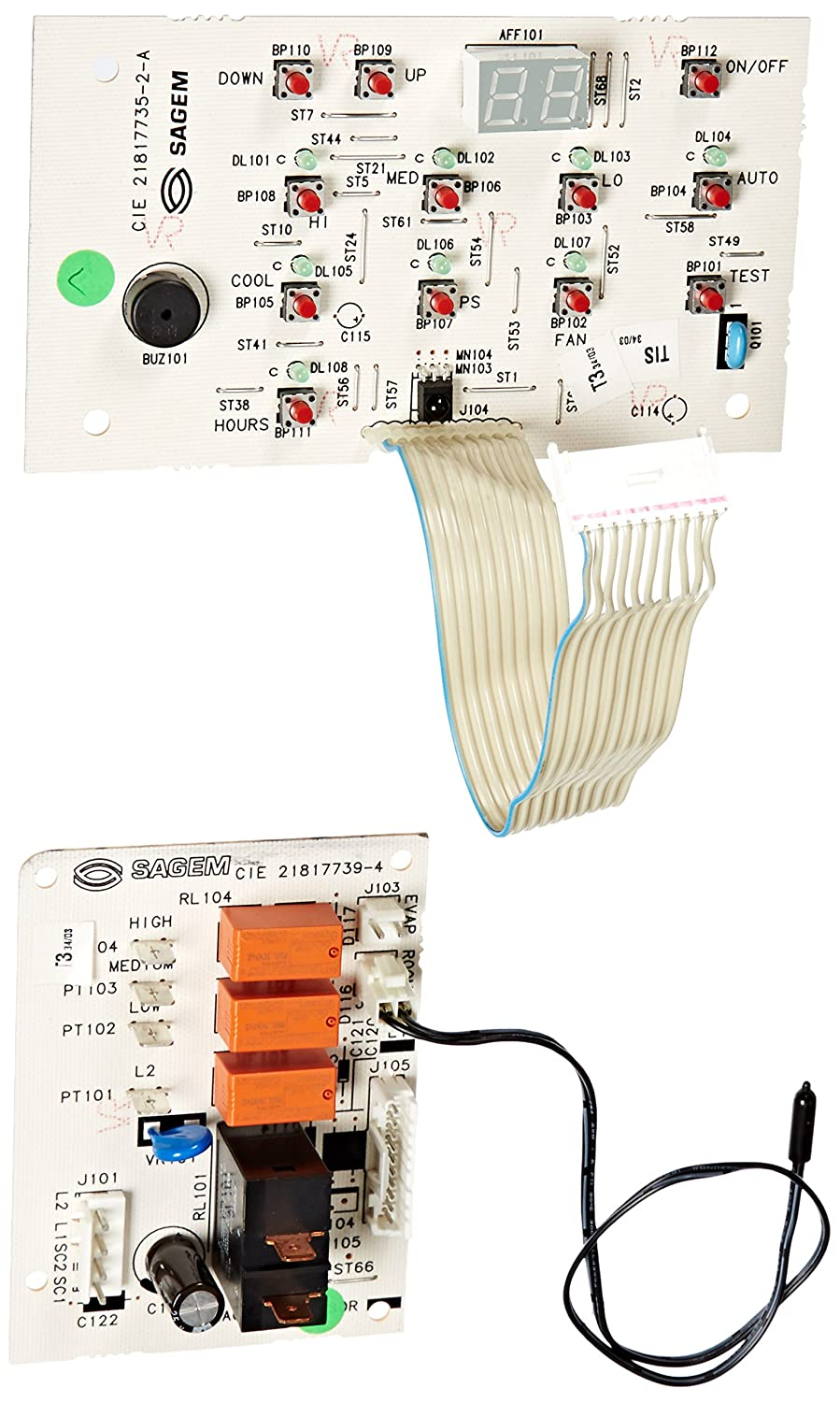 Frigidaire 5304420622 Air Conditioner Main Control Board