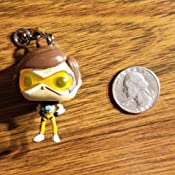 Amazon.com: Funko POP Llavero Overwatch Tracer Figura de ...