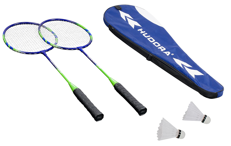 inkl + Badmintonset Tragetasche HUDORA Volleyball-Netz//Badminton-Netz