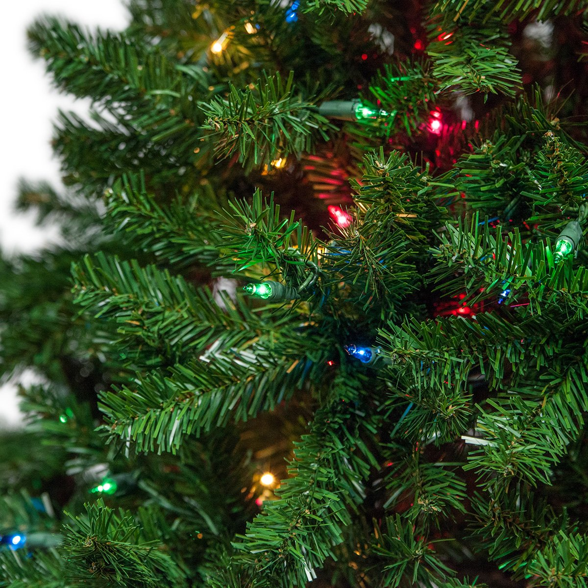 Amazon.com: Douglas Fir Prelit Christmas Tree Artificial Christmas ...