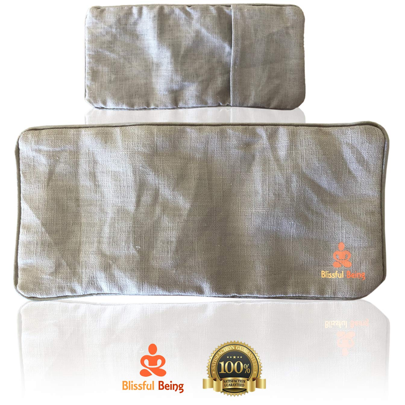 Amazon.com: Blissful Being Namaste - Almohada para yoga y ...