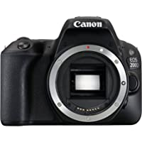 Canon EOS 200D Digital SLR Camera - Black