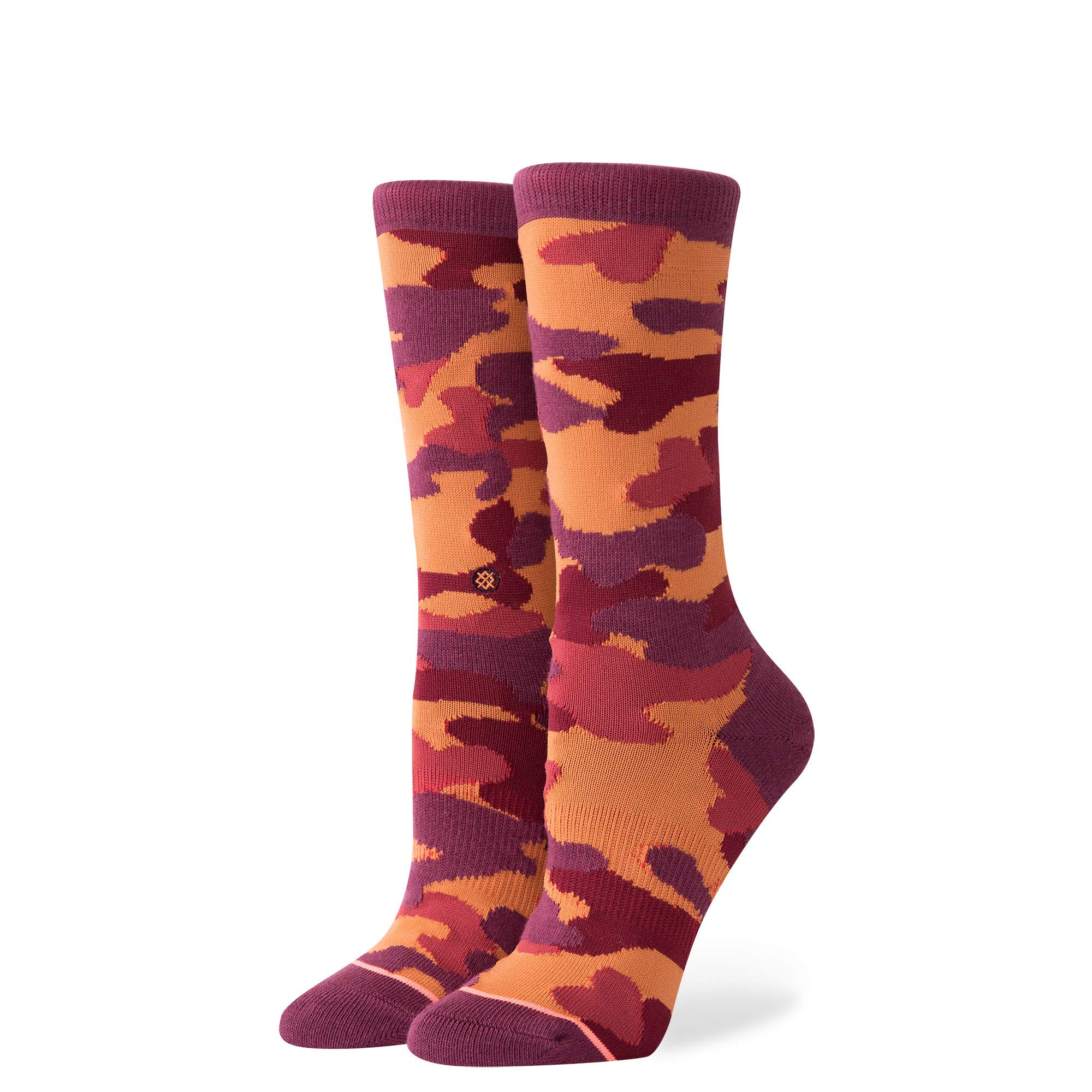 Stance W525C18EGY Women's Egyptian Beetle Sock, Tobacco - Large (11-13.5) by Stance