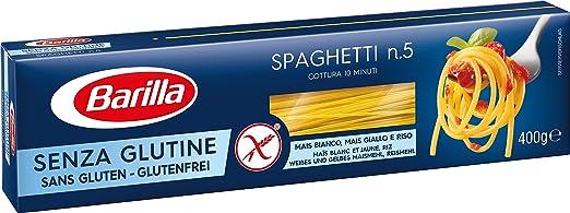 18 opinioni per Barilla- pasta senza glutine- Spaghetti- 4 confezioni da 400 g [1600 g]