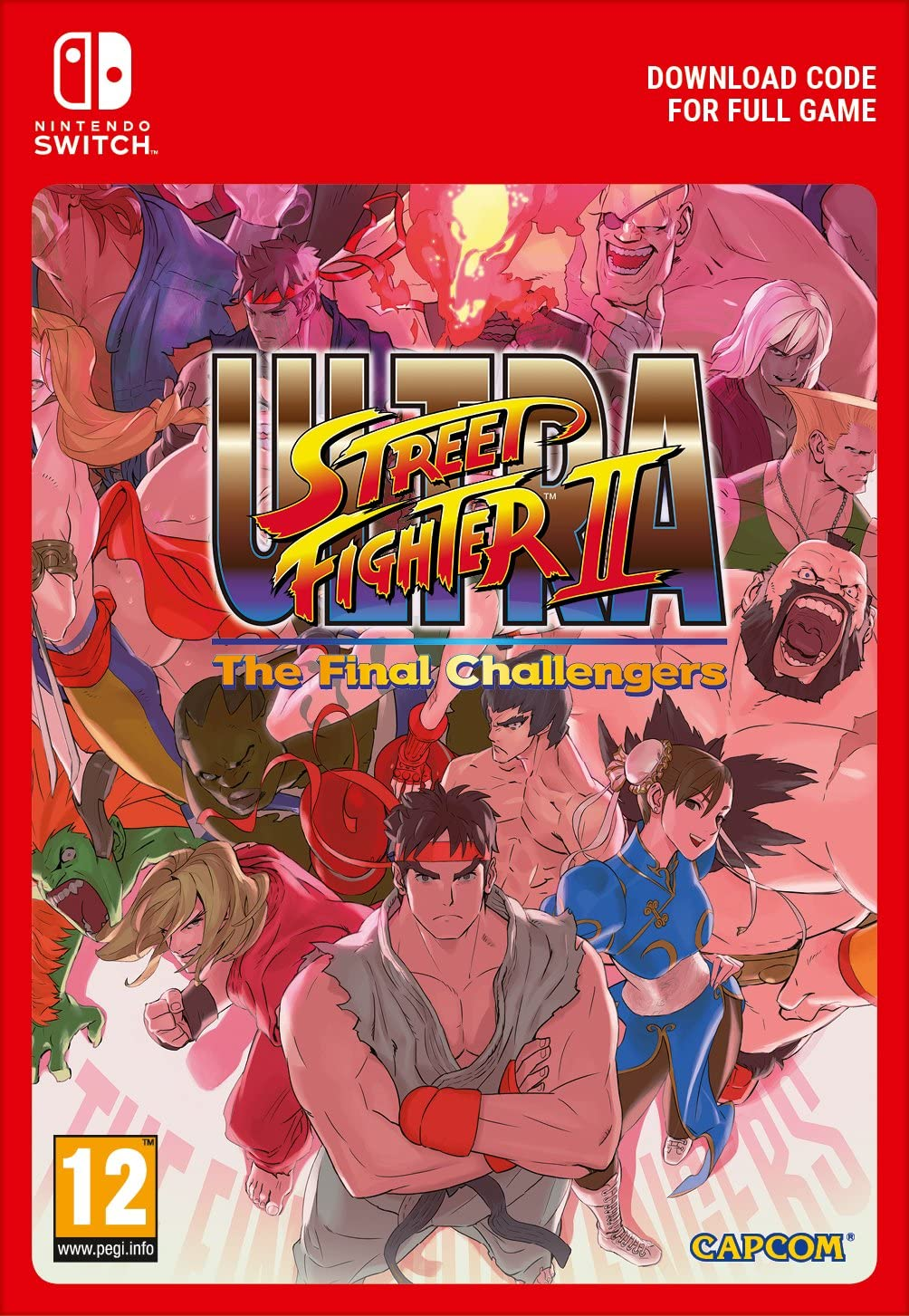 Ultra Street Fighter II The Final Challengers [Switch