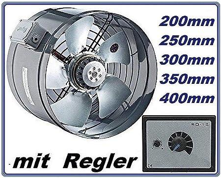 300mm Industrial Tubo Ventilador con 500Watt Regulador de ...