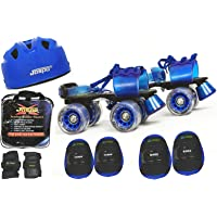 Jaspo Passion Pro Superior Senior Skates Combo (skates+helmet+knee+elbow+wrist+bag)suitable for age upto 6 to 14 years
