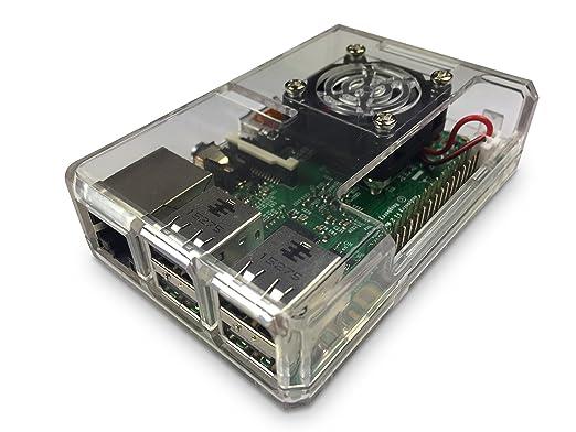 10 opinioni per GorillaPi Cancella Raspberry Pi 3 & Raspberry Pi 2 Case Modello B (e B +) e Fan-