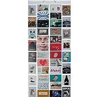 Photo Rideau Rideau Rideau photo de photos avec 40pochettes pour cartes postales 80photos de 10x 15cm XXL Motif cartes–Rideau de douche Galerie Photo