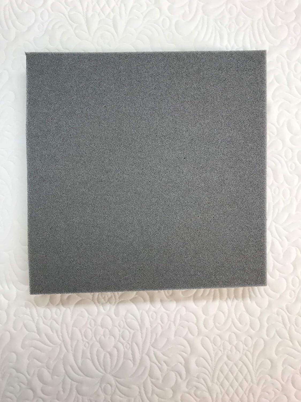18 inch x 18 inch 3 lb Gel Infused Memory Foam (1') The American Mattress Company