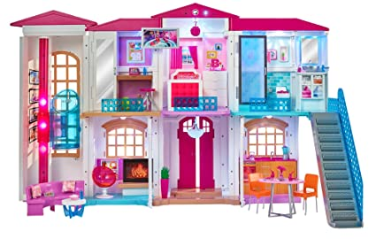Amazon Com Barbie Hello Dreamhouse Toys Games