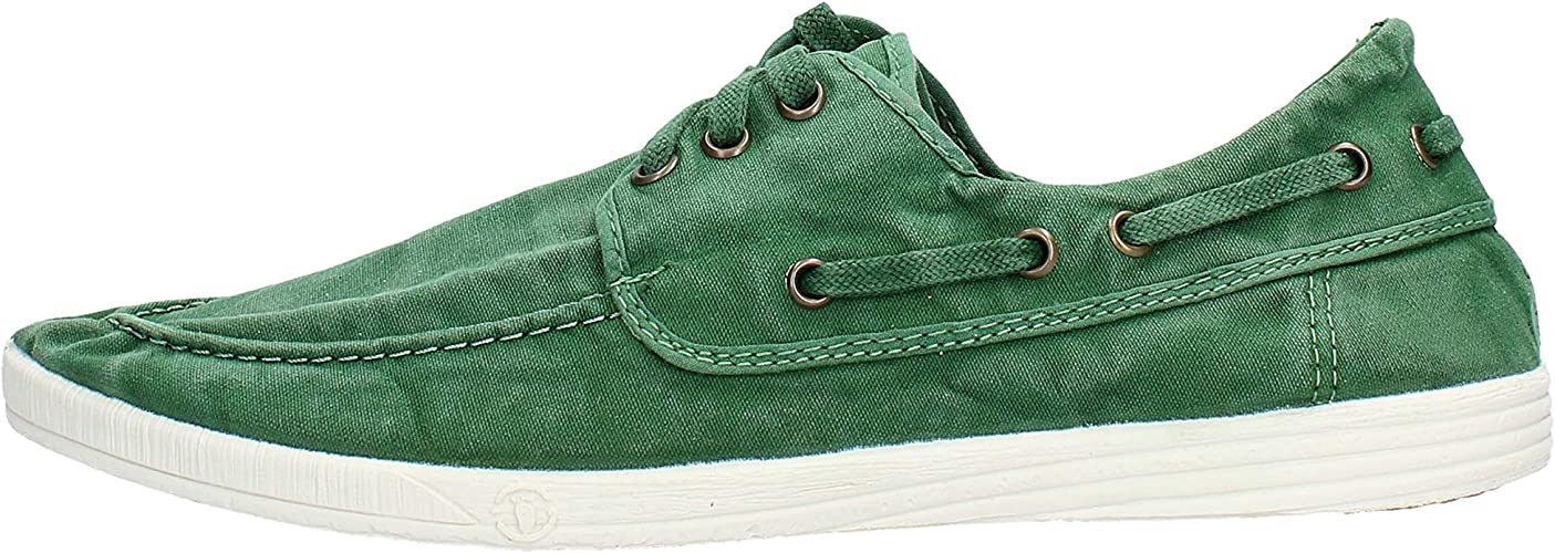scarpa in tessuto Natural World verde 303E