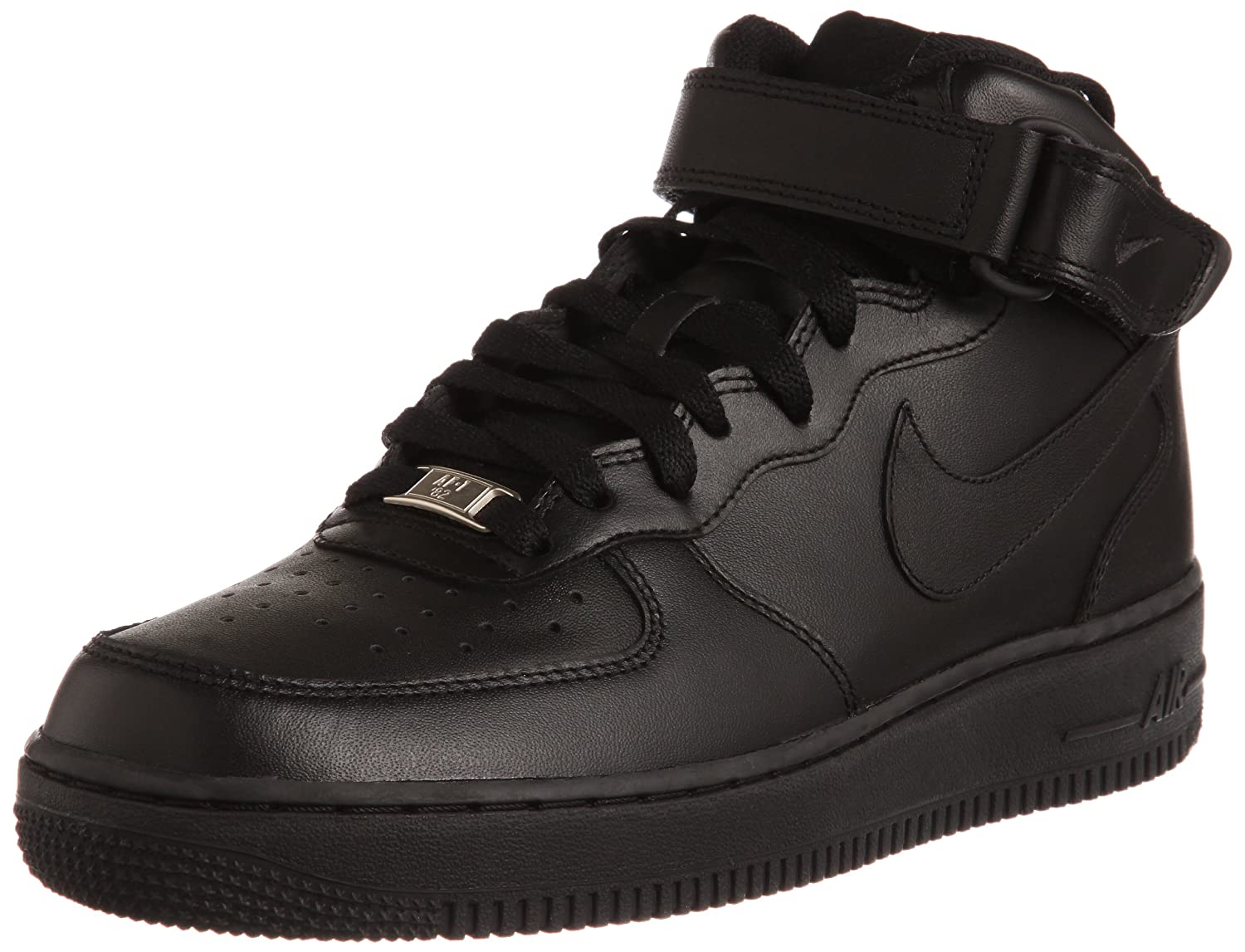 Nike Air Force 1 Mid '07 Men's B00N342XZ0 9 D(M) US|Black/Black-black
